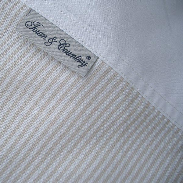 Oxford Stripe Beige 1