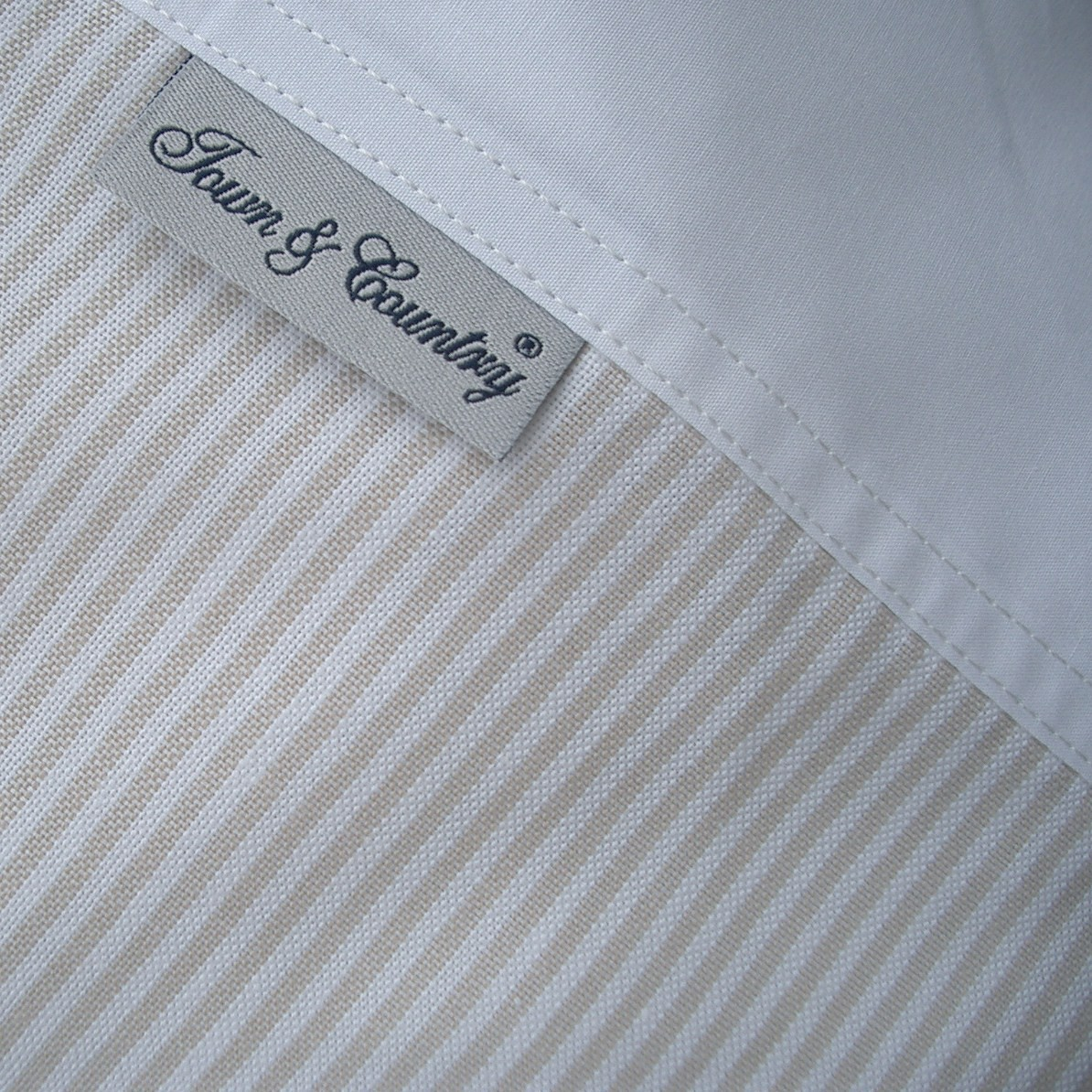 Oxford Stripe Beige
