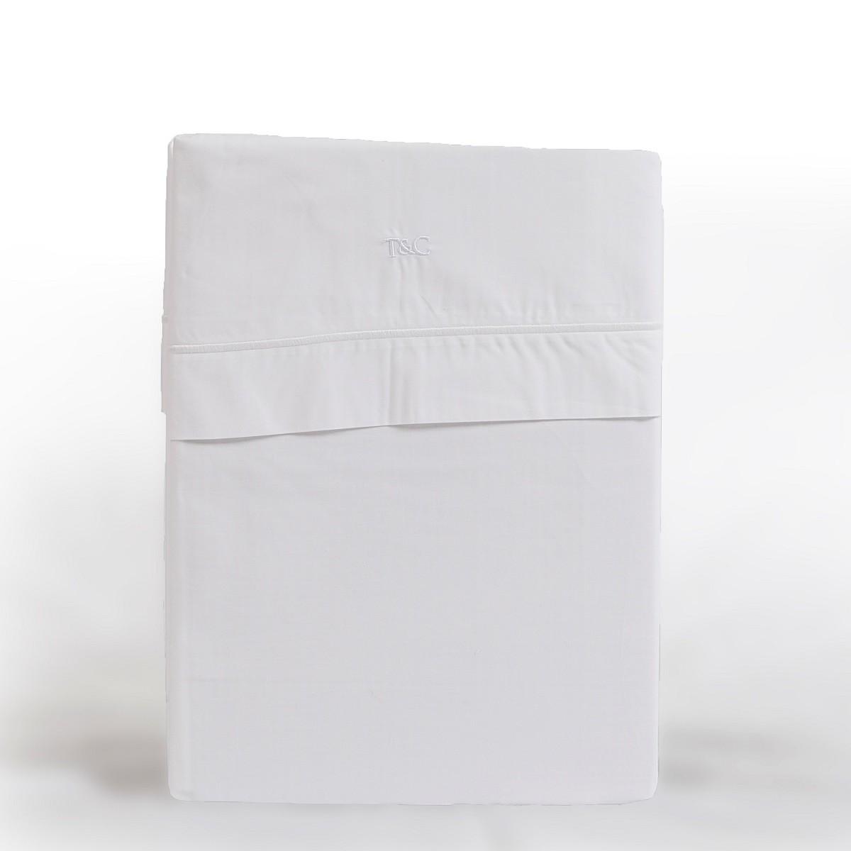Laken cordon vrijstaand wit